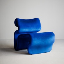 Etcetera Easy Chair Klein Blue