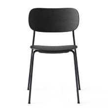 Co Chair Black Steel/Black Oak   현 재고