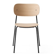 Co Chair Black Steel/Natural Oak 12월말 입고
