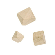 Diamond Hooks - Oak