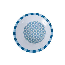 Bowl graphic blue
