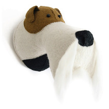 Fox terrier head