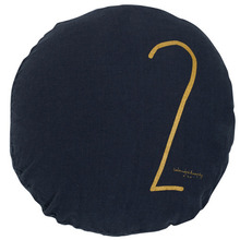 Shining Round Cushion Charbon 2