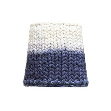 Handknitted cotton lamp indigo dip (20% sale)