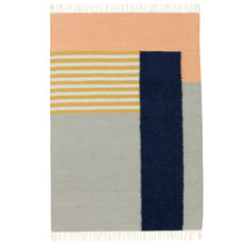 Kelim Rug White Line Large (20% sale)