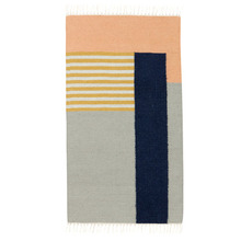 Kelim Rug White Line Small (20% sale)