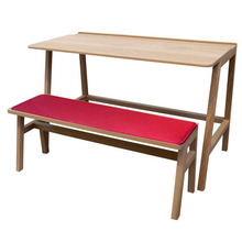 Vessel Small Desk & Banc Set