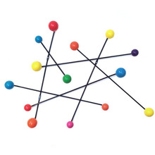 Coat Hook Constellation Multicolor