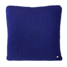 Quilt Cushion Dark Blue 45x45 (30% sale)