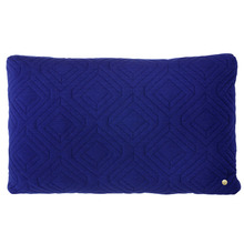 Quilt Cushion Dark Blue 60x40 (30% sale)