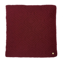 Quilt Cushion Bordeaux 45x45 (30% sale)