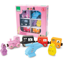 Barbapapa Magnet Train Set