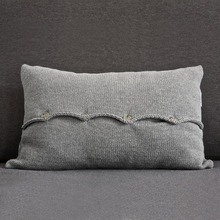 Berlin Pillow Case Grey