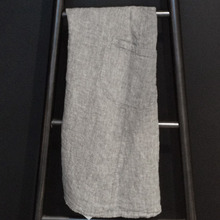 Japanese Apron Adult Grey Chine