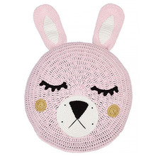 Pink Bunny Snuggle Cushion
