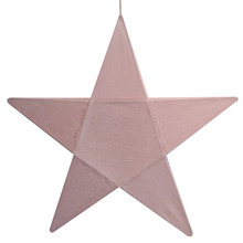 Star Lantern Dusty Pink Medium