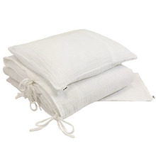 Duvet Cover Set Single White