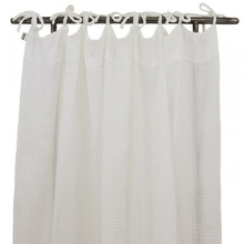 Flat Curtain White