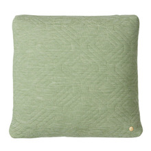 Quilt Cushion Green 45x45