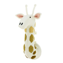 Semi Tonal Giraffe Head