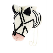 Pink Nose Zebra Hook