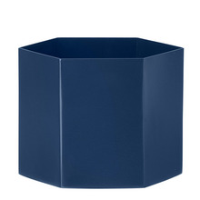 Hexagon Pot Blue XL