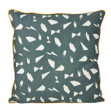 Mini Cut Cushion Green