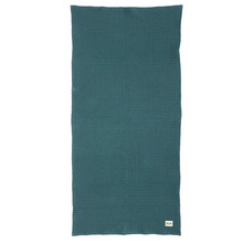 Organic Bath Towel Petrol  (30% sale)