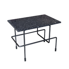 Traffic Low Table 45x30cm Black