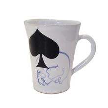 Unique Souvenir Small Cup Skull & Spade [30% sale]