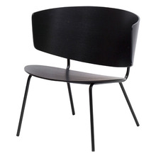 Herman Lounge Chair Black
