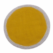 Lumbini Rug 120cm Light stone/Pollen (30% sale)