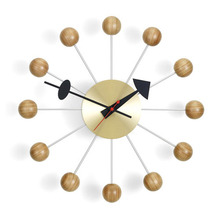Ball Clock Cherry