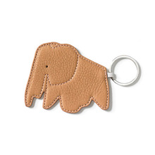 Key Ring Elephant Natural