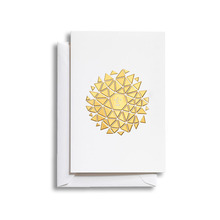 Greeting Card Medium Sun