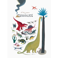 I had a dream about Dinosaurs 50x70cm