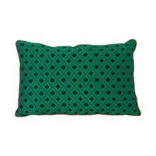 Salon Cushion Mosaic Green