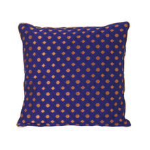 Salon Cushion Mosaic Blue