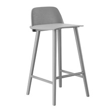 Nerd Bar Stool H65cm Grey