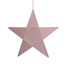 Star Lantern Dusty Pink Small