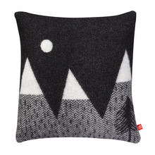 Mountain Moon Woven Cushion Black/White