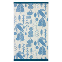 Bird & Tree Bath Towel Cream