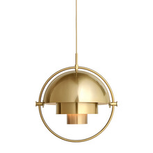 Multi-Lite Pendant Brass base/Brass