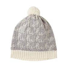 Hi Bye Hat Grey (30% sale)