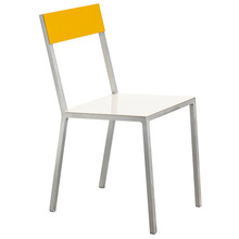 Alu Chair White/Yellow