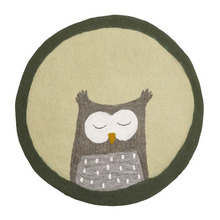 Pasu Rug Owl Lemon Grass
