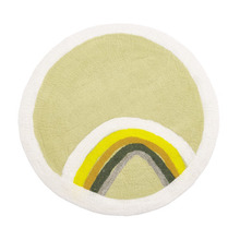 Indreni Rug Natural/Lemon Grass