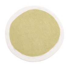Lumbini Rug 120cm Natural/Lemon Grass