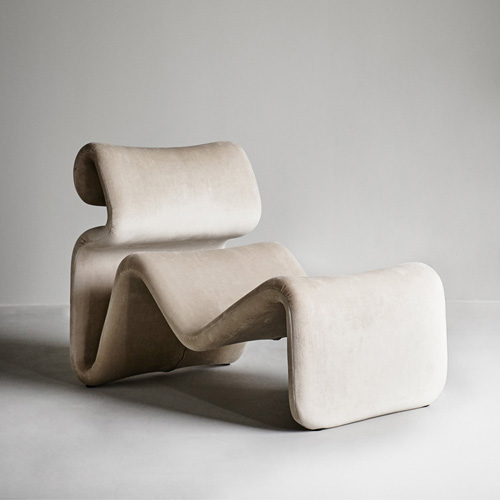 Etcetera Lounge Chair Sand Beige