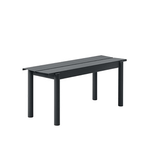 Linear Steel Bench 110x34cm